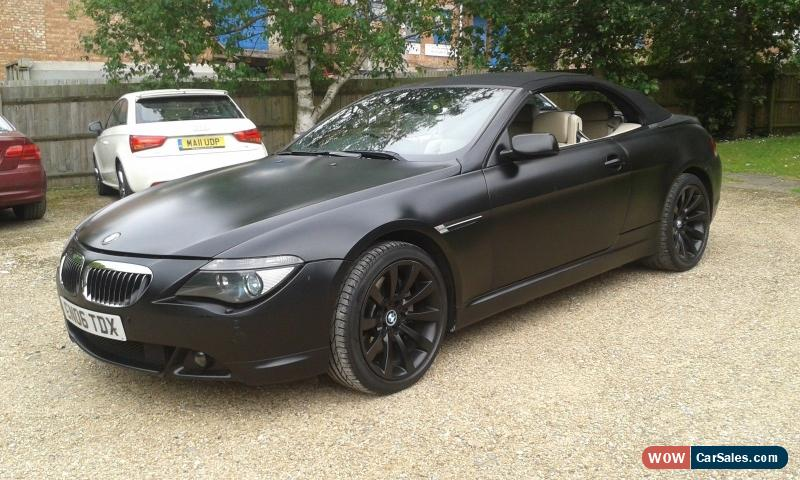 2006 bmw 650i sport auto for sale in united kingdom. Black Bedroom Furniture Sets. Home Design Ideas