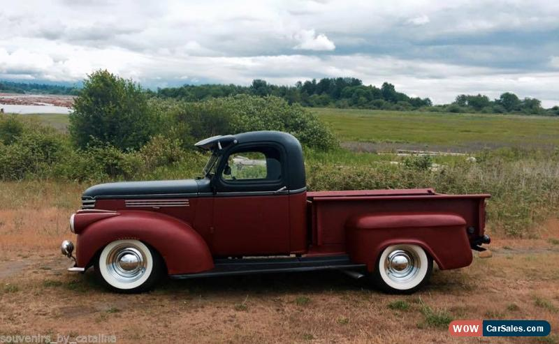 1941 chevrolet chevy pickup vintage hot rod ak classic for sale in canada. Black Bedroom Furniture Sets. Home Design Ideas