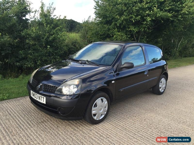 2003 renault clio expression 16v for sale in united kingdom. Black Bedroom Furniture Sets. Home Design Ideas