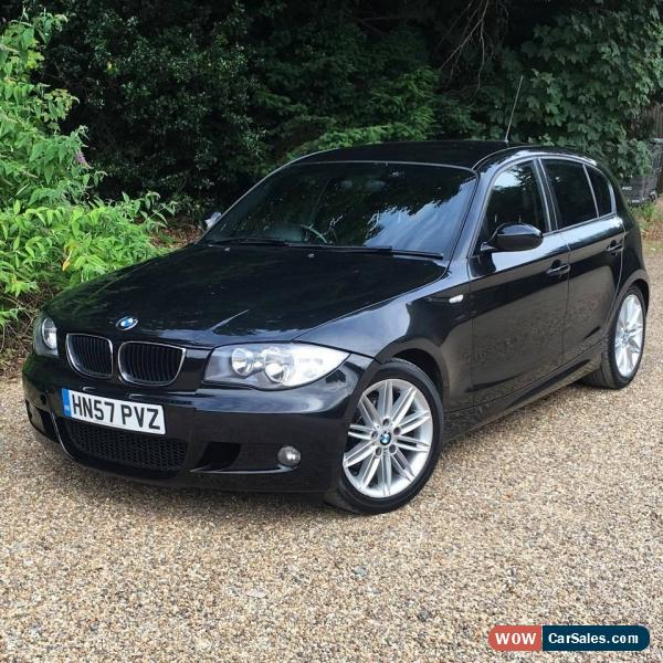 2007 bmw 120i m sport for sale in united kingdom. Black Bedroom Furniture Sets. Home Design Ideas