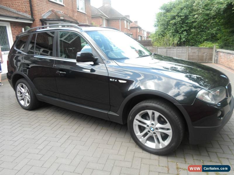 Classic 2009 BMW X3 20D SE BLACK For Sale