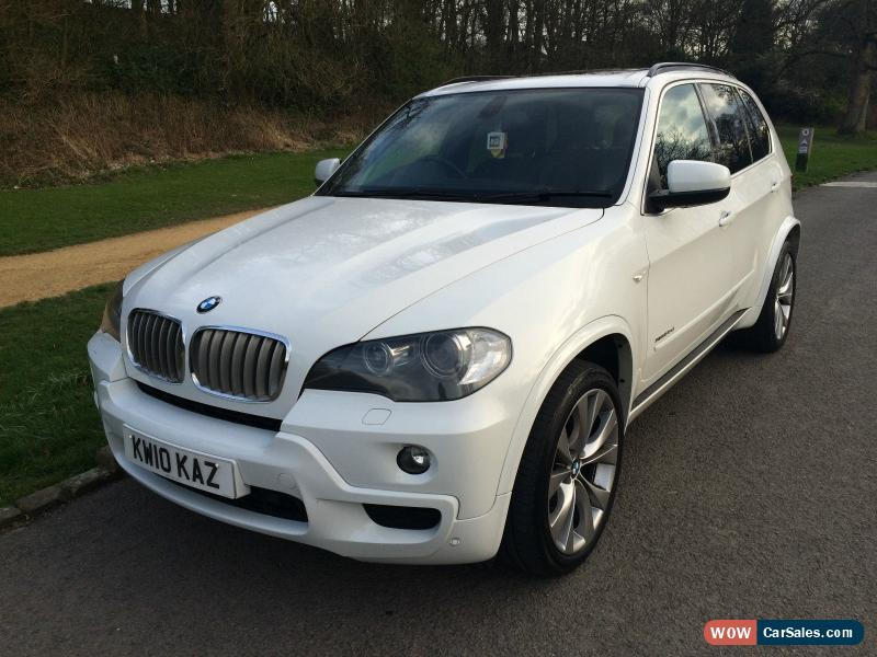 2010 bmw x5 xdrive 35d msport 7s a for sale in united kingdom. Black Bedroom Furniture Sets. Home Design Ideas