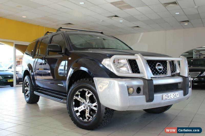 Nissan Pathfinder For Sale In Australia