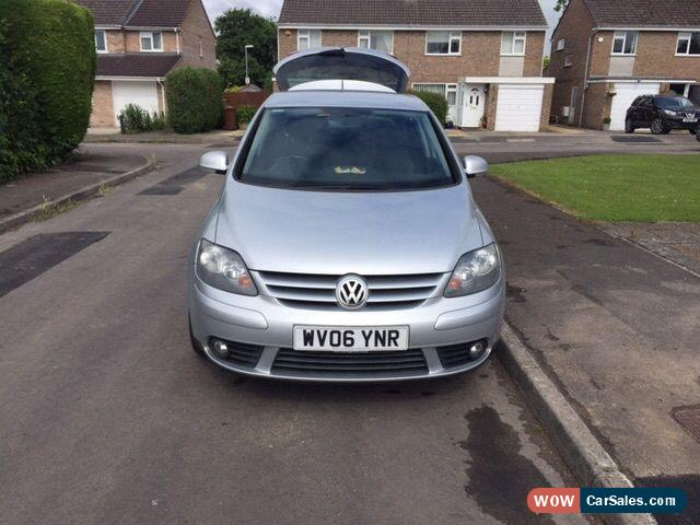 2006 volkswagen golf plus tdi diesel reflex silver 5 door. Black Bedroom Furniture Sets. Home Design Ideas
