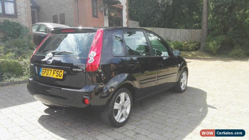 2007 ford fiesta zetec climate for sale in united kingdom rh wowcarsales com ford fiesta manual 2007 pdf ford fiesta 2007 manuel d'utilisation