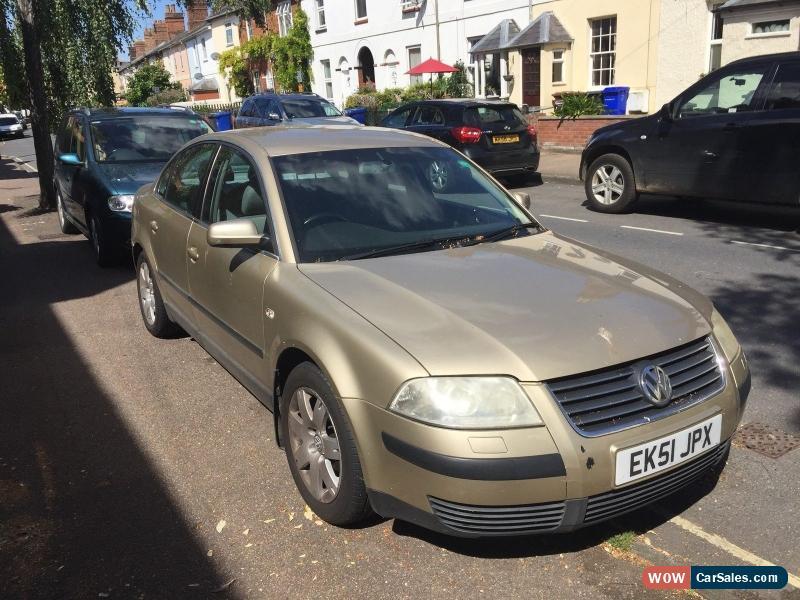 Here for sale is my 2002 Volkswagen Passat 2.0 TDI Speed that am ...