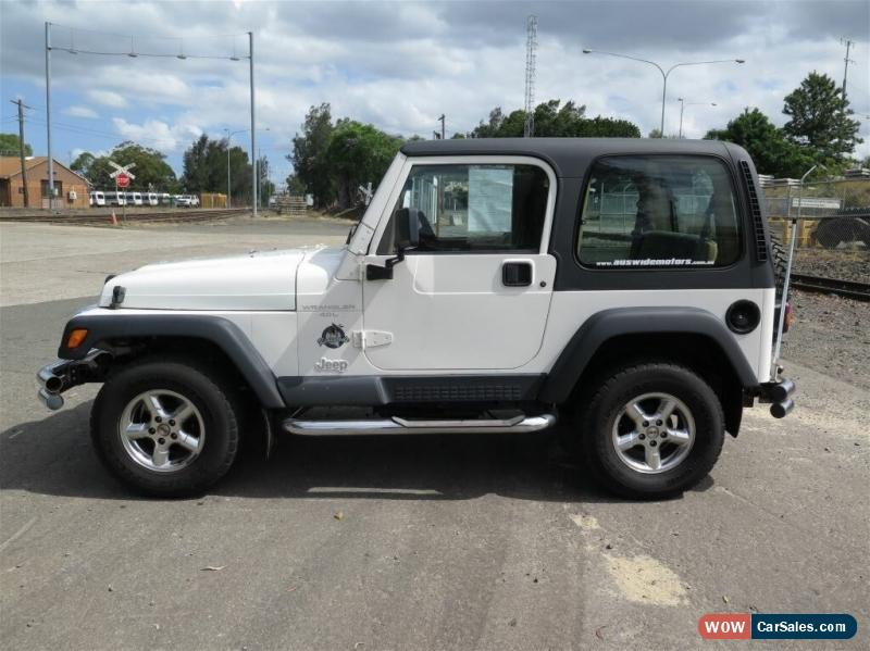 Jeep Wrangler For Sale In Australia