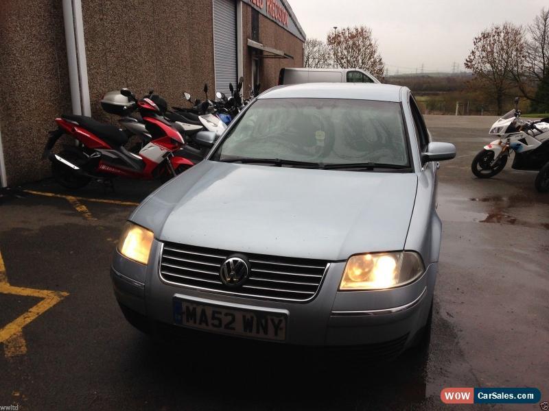 2002 Volkswagen Passat for Sale in United Kingdom