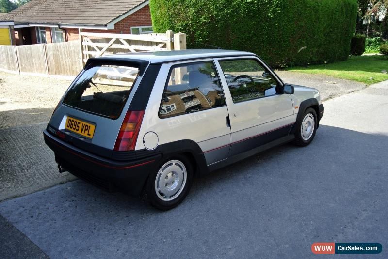 1986 Renault 5 Gt Turbo For Sale In United Kingdom