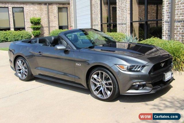 2015 mustang gt convertible for sale