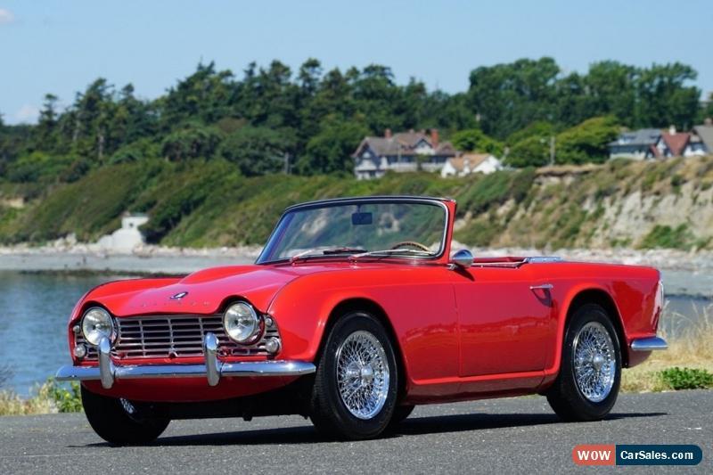 1963 Triumph Tr4 For Sale In Canada