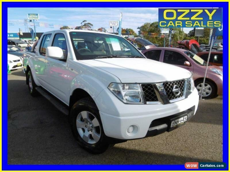 nissan navara for sale in australia rh wowcarsales com 2010 nissan navara st d40 manual 4x4 review 2010 nissan navara st d40 manual 4x4 dual cab