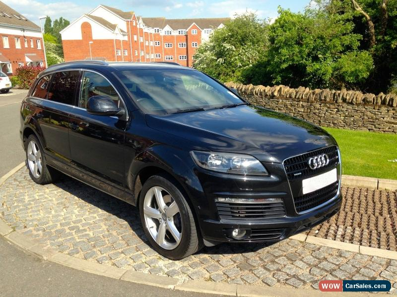 2008 audi q7 s line tdi quattro a for sale in united kingdom. Black Bedroom Furniture Sets. Home Design Ideas