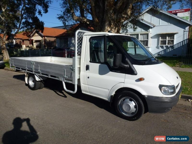 2002 Ford Transit VH 2 5 Tonne Manual 5sp M Cab Chassis