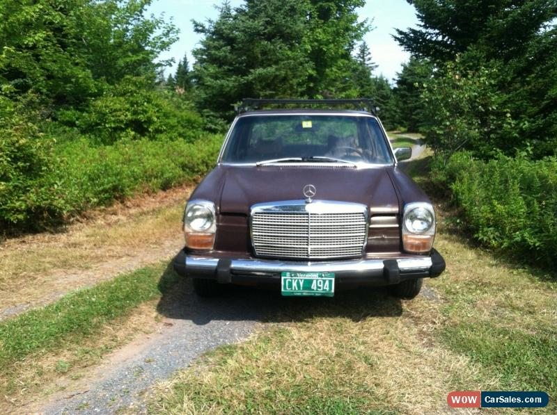 1975 mercedes benz s class for sale in canada for Mercedes benz for sale in canada