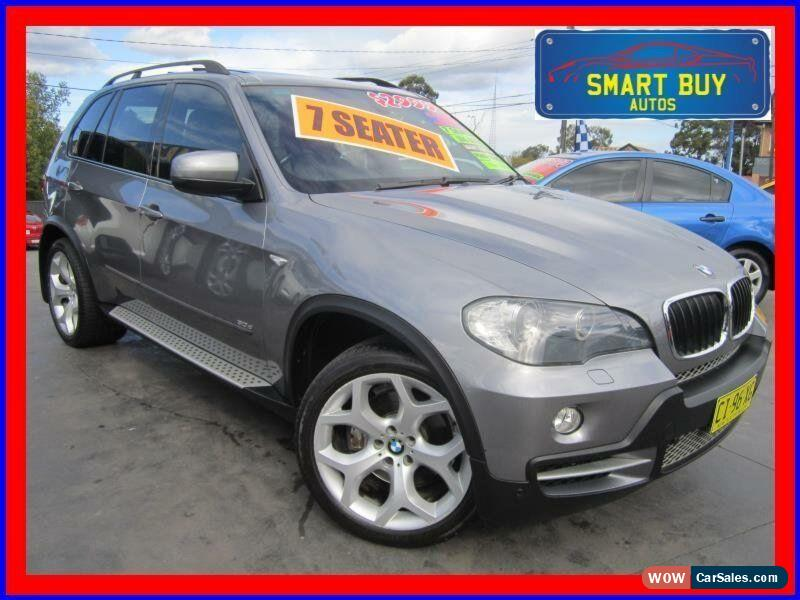 2007 Bmw X5 E70 3 0d Grey Automatic 6sp A Wagon