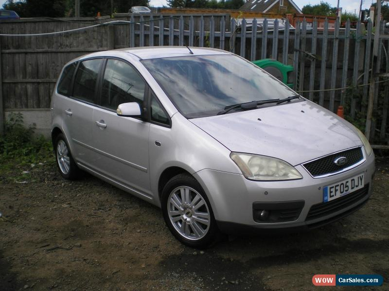 2005 ford focus c max ghia for sale in united kingdom. Black Bedroom Furniture Sets. Home Design Ideas