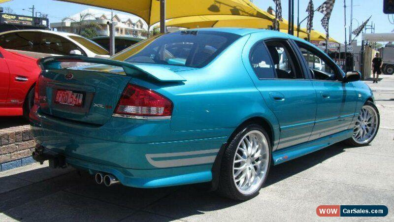 2007 Ford Falcon BF MkII 07 Upgrade XR8 Breeze Manual 6sp M Sedan