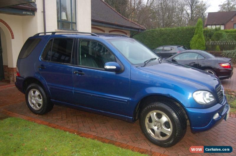 2002 mercedes benz ml 270 cdi for sale in united kingdom
