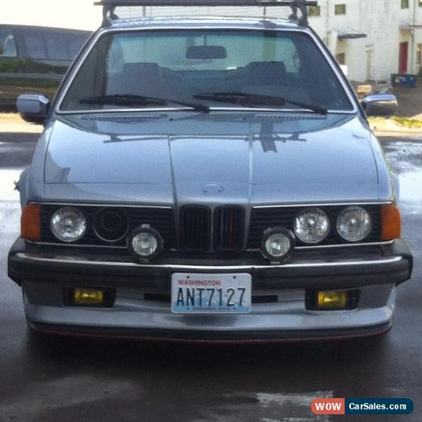 1985 Bmw 6-Series For Sale In United States