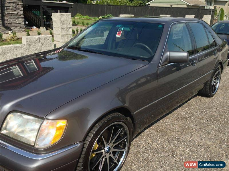 1995 mercedes benz s class for sale in canada. Cars Review. Best American Auto & Cars Review
