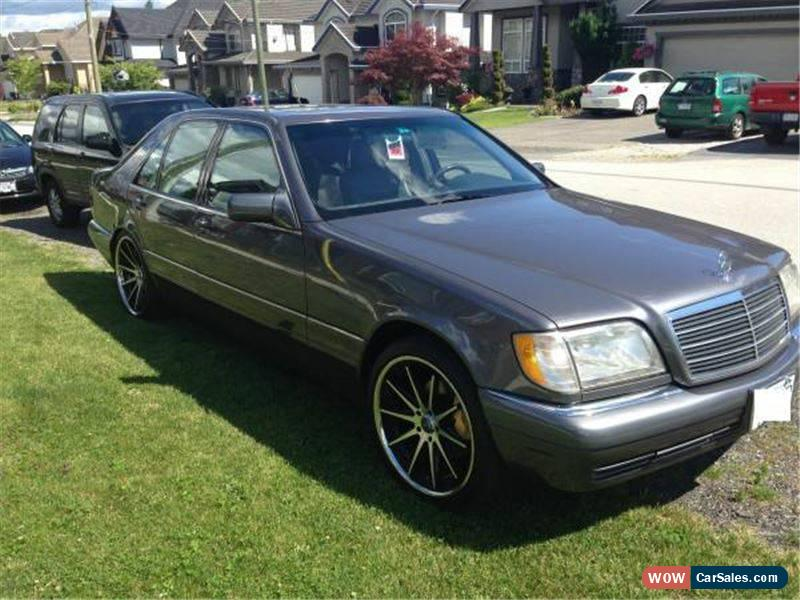 1995 mercedes benz s class for sale in canada. Black Bedroom Furniture Sets. Home Design Ideas