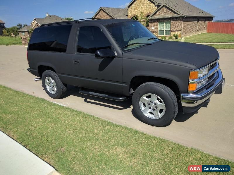 1995 chevrolet tahoe for sale in united states for Door 2 door cars
