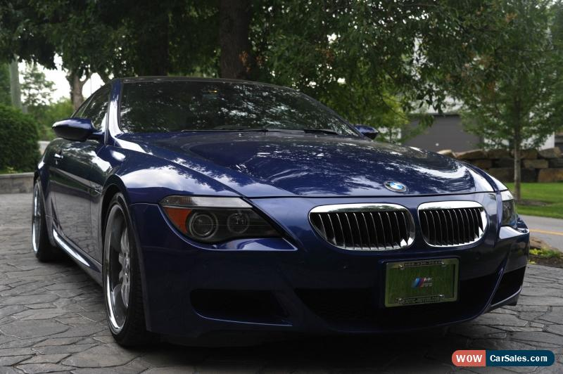 2006 bmw m6 for sale in canada. Black Bedroom Furniture Sets. Home Design Ideas
