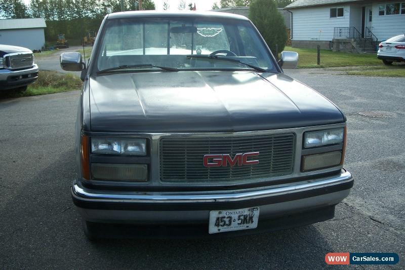 1991 Gmc Sierra >> 1991 Gmc Sierra 1500 For Sale In Canada