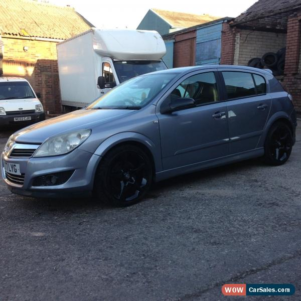 VAUXHALL ASTRA 2005 BLACK LEATHER FULL SPEC For Sale In