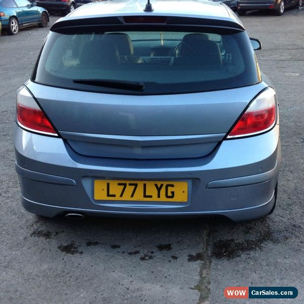 Vauxhall Astra Sri Vx Line Manual Hatchback: VAUXHALL ASTRA 2005 BLACK LEATHER FULL SPEC For Sale In