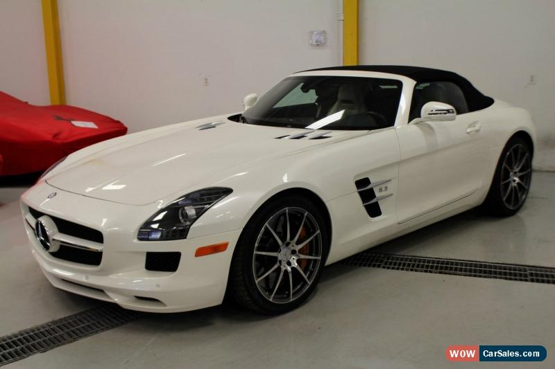 Classic 2012 Mercedes Benz SLS AMG Roadster For Sale ...