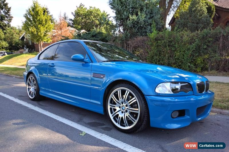 2001 Bmw M3 for Sale in United States