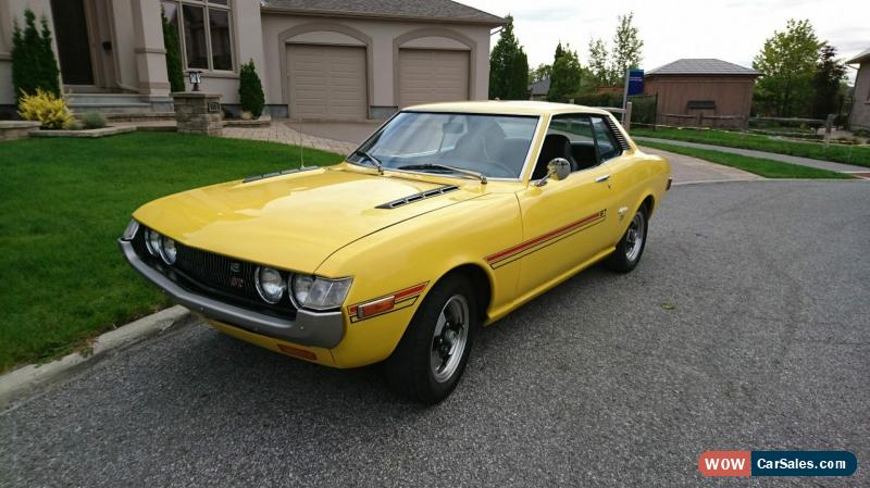 1972 toyota celica for sale in canada. Black Bedroom Furniture Sets. Home Design Ideas