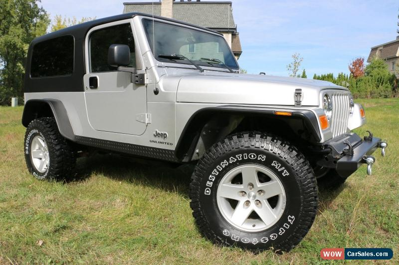 2005 jeep wrangler for sale in canada. Black Bedroom Furniture Sets. Home Design Ideas
