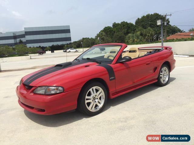 classic 1996 ford mustang gt convertible 2 door for sale. Cars Review. Best American Auto & Cars Review