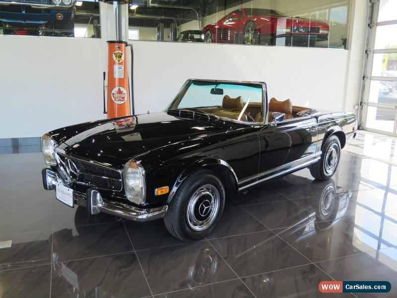 1971 mercedes benz 280 sl for sale in canada. Black Bedroom Furniture Sets. Home Design Ideas