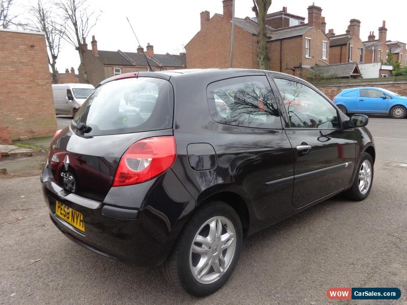 2008 renault clio expression turbo 100 for sale in united kingdom. Black Bedroom Furniture Sets. Home Design Ideas