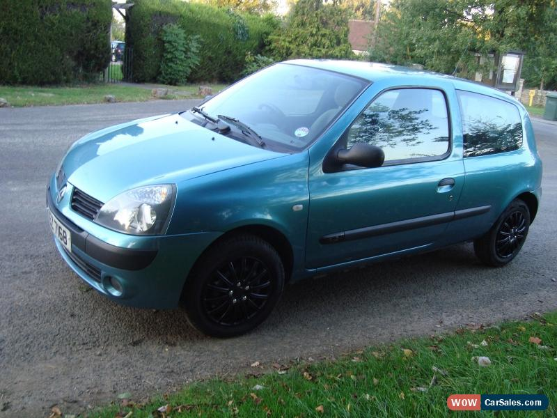 2006 renault clio campus 1 2 for sale in united kingdom. Black Bedroom Furniture Sets. Home Design Ideas