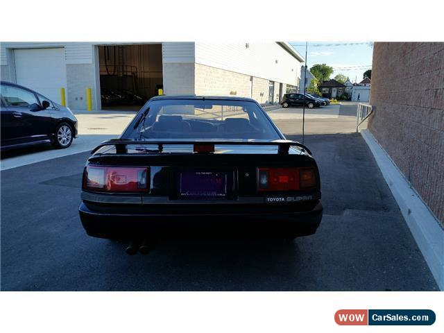 ... Classic 1987 Toyota Supra Turbo Targa Roof For Sale