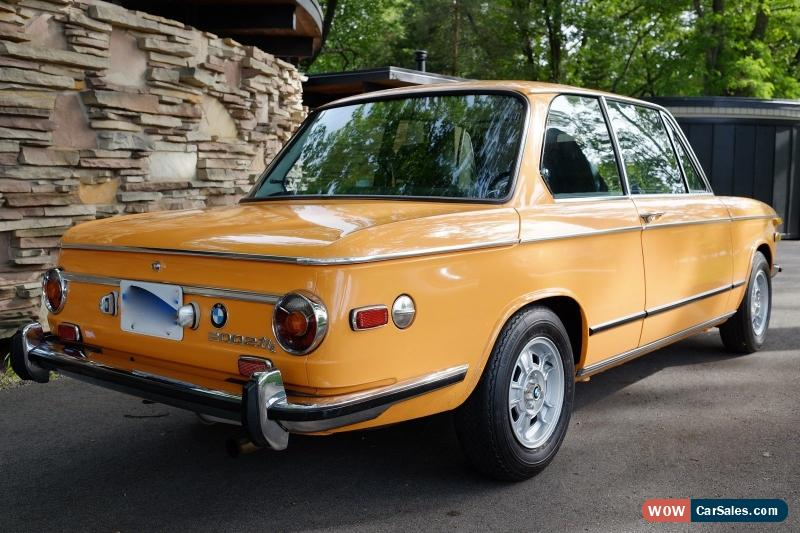 Bmw 2002 For Sale >> 1973 Bmw 2002 For Sale In Canada