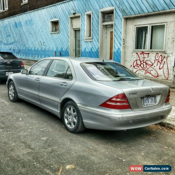 2001 Mercedes-benz S-Class For Sale In Canada