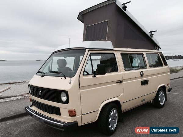 1984 Volkswagen Bus/Vanagon For Sale In Canada