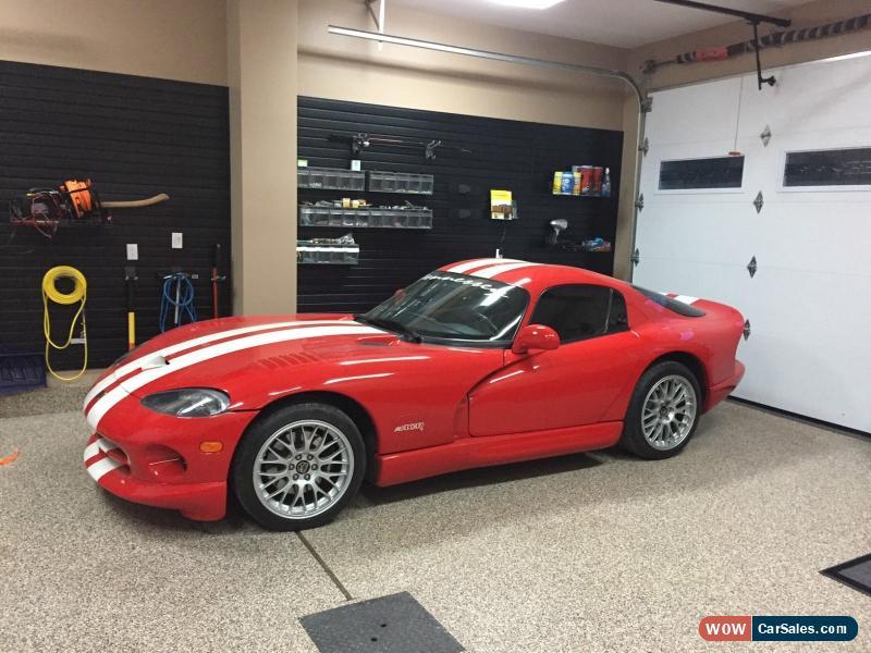 Viper Gts For Sale >> 2002 Dodge Viper Gts Acr