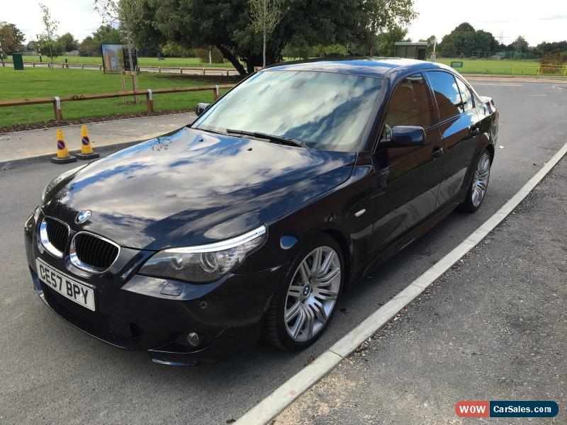 2007 bmw 520d m sport auto for sale in united kingdom. Black Bedroom Furniture Sets. Home Design Ideas