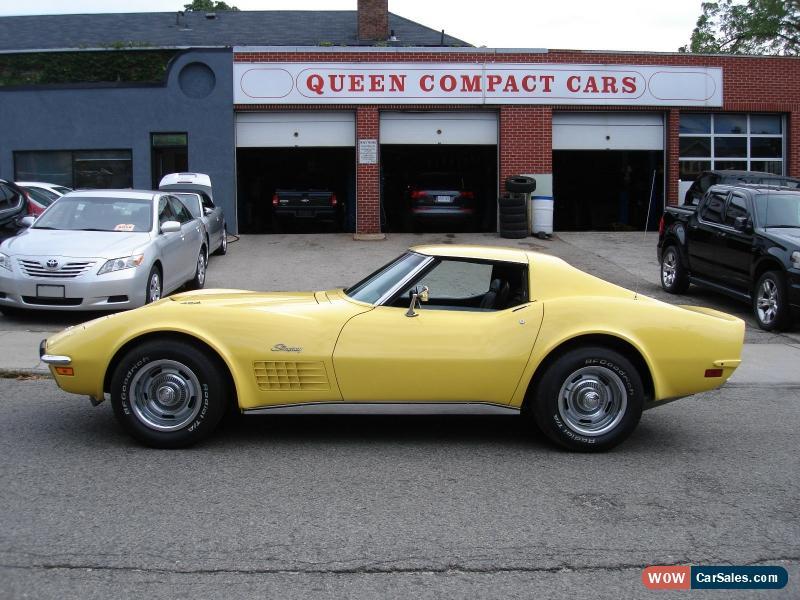 1970 Corvette For Sale >> 1970 Chevrolet Corvette Stingray 454