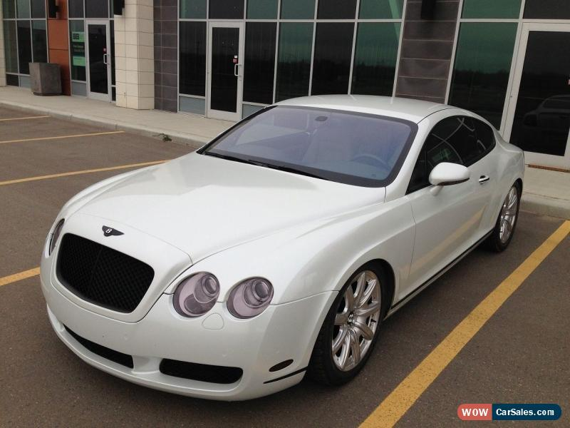 2004 bentley continental gt for sale in canada. Black Bedroom Furniture Sets. Home Design Ideas