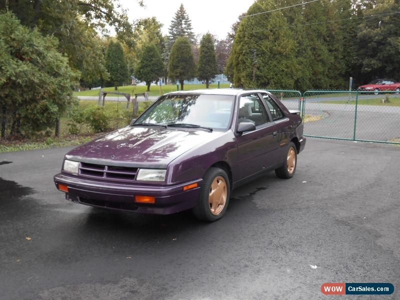 1989 Dodge Shadow for Sale in Canada