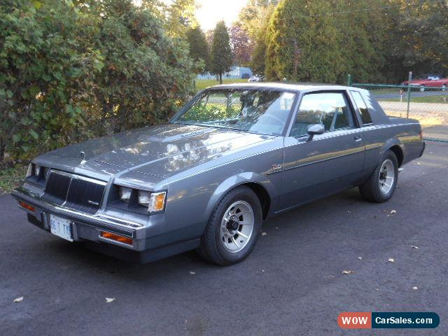 1986 Buick Regal >> 1986 Buick Regal For Sale In Canada