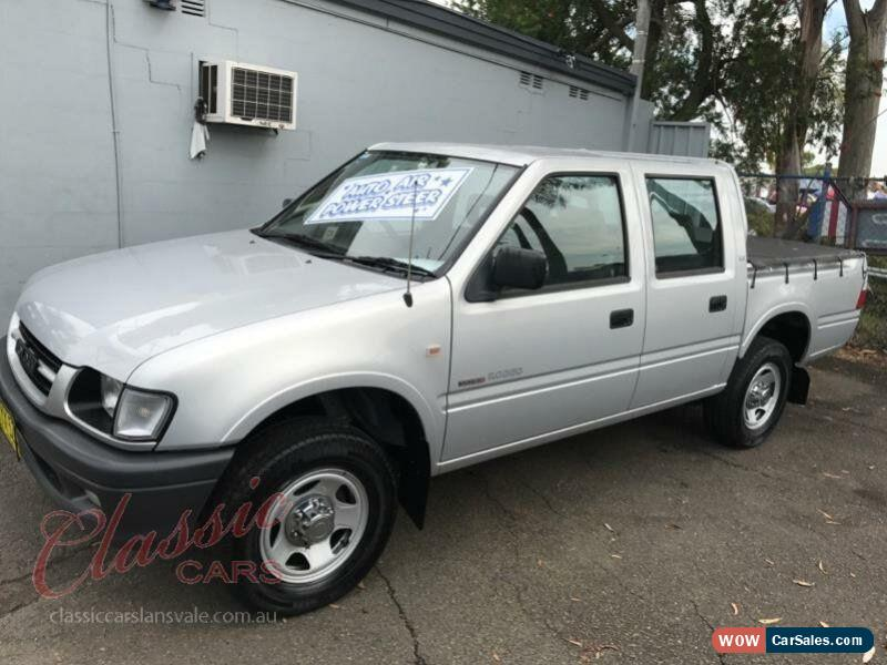 2001 Holden Rodeo TFR9 LX Silver Automatic 4sp A Crewcab